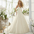 Generous Wedding Dresses 2016 New Arrival Sweetheart Beading Wedding Gown Bride Dresses Dignified Robe De Mariage Court Train