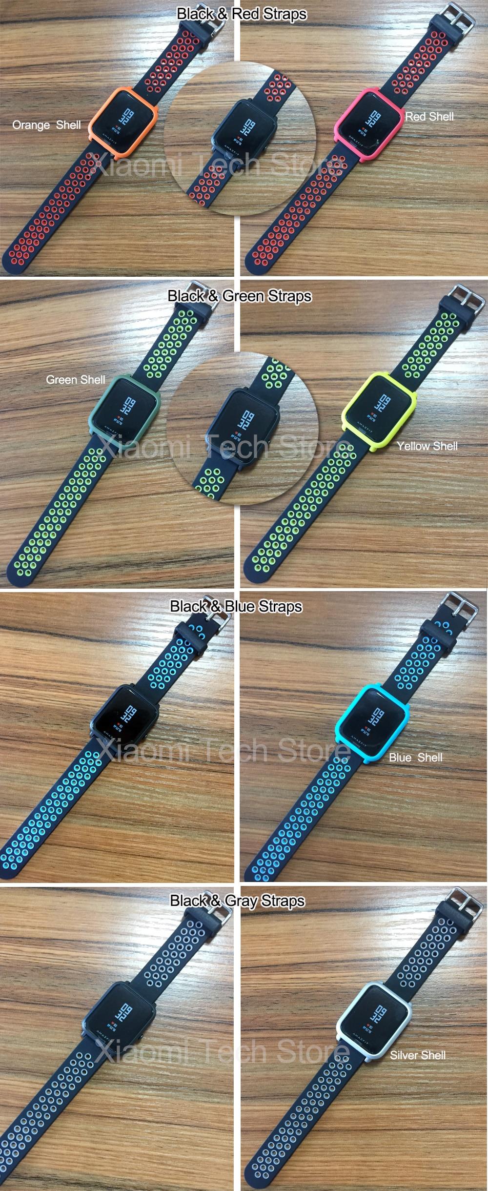 Original Xiaomi Amazfit Huami Smart Watch Youth Edition English Version Bip BIT PACE Lite IP68 GPS Heart Rate Mi Smartwatch (5)