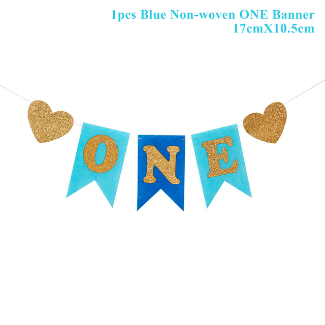 1 pcs one Blue Presents for one year old boy 5c64f7ebefc29