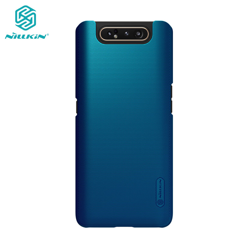 Case for <font><b>Samsung</b></font> Galaxy <font><b>A80</b></font> A90 5G Casing Nillkin Frosted Shield PC Hard Back Casing <font><b>Cover</b></font> For <font><b>Samsung</b></font> <font><b>A80</b></font> Case image