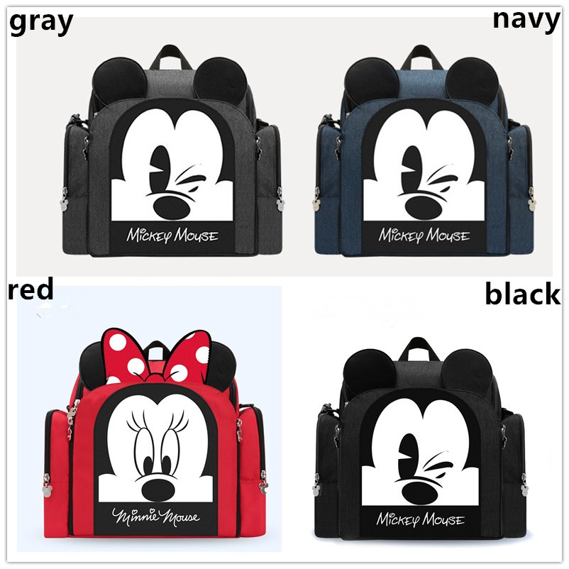 Disney Convenient Chair Backpack Multifunctional Diaper Bags Waterproof Mother Nappy Backpack Baby seat bags fold carrier DPB09