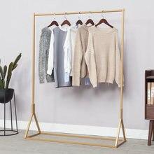 Золотая вешалка для магазина одежды и золотые вешалки