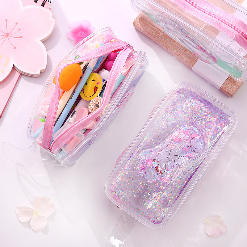 Pencil Case For Girls Trousse Scolaire Stylo Material Escolar Estuche Kawai School Supplies Kalem Kutusu Utiles Escolares Kotak