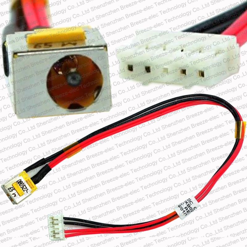 Tested NEW DC Power Jack socket wire Cable for Acer Aspire Travelmate Extensa 5235 5335 5735 5735Z 6735 5610 7200 50.4k802.001