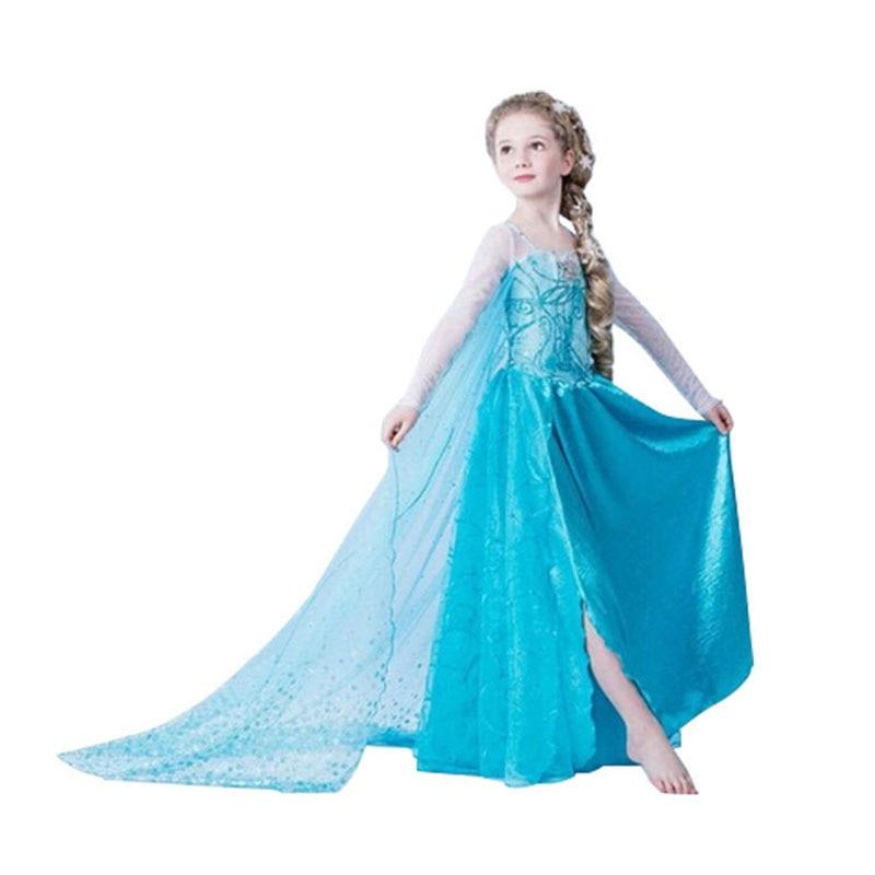 New Summer dress princess sofia dress infantil fever disfraz anna elsa elza costume vestido rapunzel jurk disfraces clothing платье для девочек new 2015 vestido disfraz princesa sofia princesinha roupas infantil meninas p06