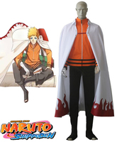 Naruto The movie The last Uzumaki Naruto Seventh Hokage Cosplay Costume Custom Made