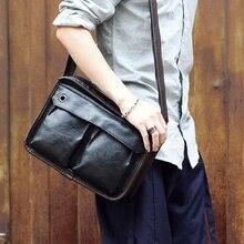 Tidog Business casual bag Satchel singles tide shoulder bag
