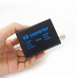 Convertisseur de signal vidéo AHD41 | Entrée de Signal, AHD TVI CVI CVBS à HDMI/VGA/CVBS, convertisseur de sortie de signal personnalisé