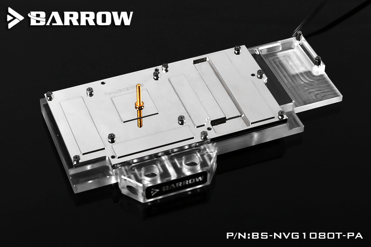 Image 3 - Barrow BS NVG1080T PA LRC RGB v1/v2 Full Cover Graphics Card Water Cooling Block for Founder ver.1080Ti/Titan/1070Ti/1060-in Fans & Cooling from Computer & Office