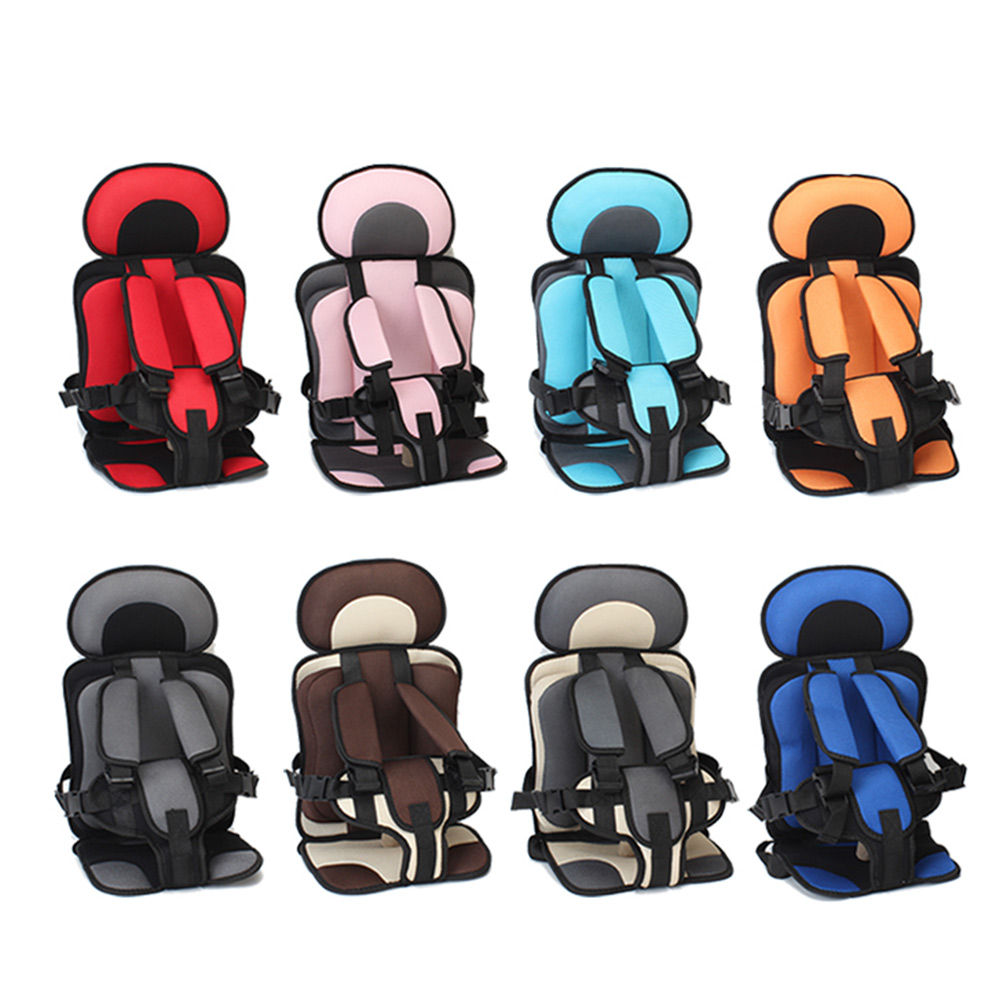 Thickening Sponge Baby Car Seats Adjustable Protection Portable Toddler Car Chairs Updated Version Thickening Baby Car Seats