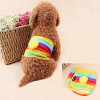 New Arrival Kawaii Clothes Pet Dog Cat Diapers Sanitary Shorts Cotton Pant Underwear Female Physiological Panties