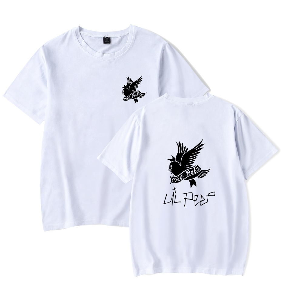 69dbec0799e 2018 lil peep TShirt birds Summer Graphic Tees funny T shirts New Coming  Oversize Clothing Comfortable