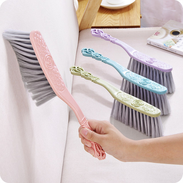 1pc Sofa Brush Counter Duster Bed Sheets Debris Cleaning Soft Bristle Desk Small Particles Hair Remover Clothes