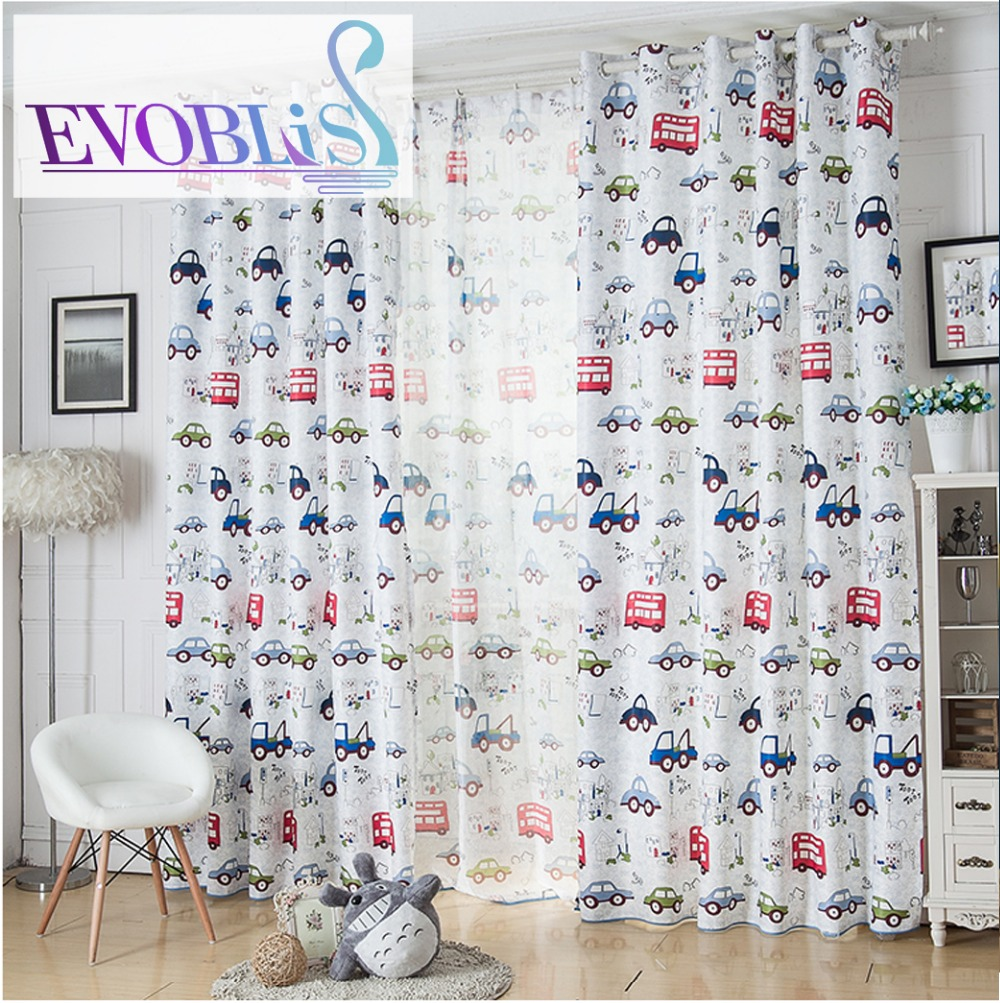 Kid car curtains - Boys Kids Curtain Cortinas Infantiles Cars Blackout Curtains For Children Baby Room Curtains Beautiful Curtains