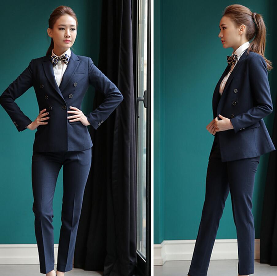 Lady suit fashion generous hot sale haute couture women business ...