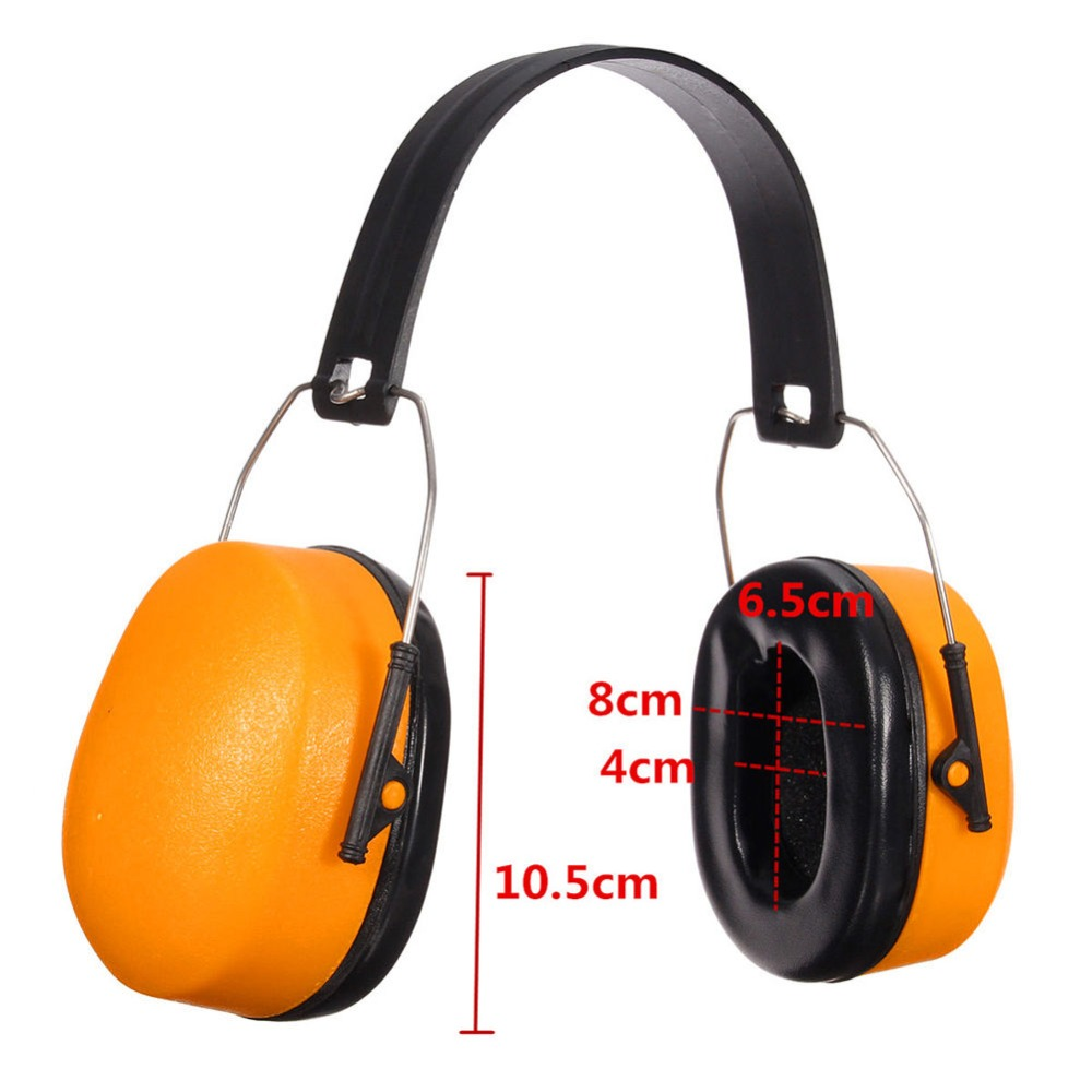 Yellow Durable Muff Electronic Shooting Soundproofing Ear Protector Hearing aa shield soundproofing mini ear muff shooting hearing protector noise reduction tools 25 8db color od reduce db free shipping