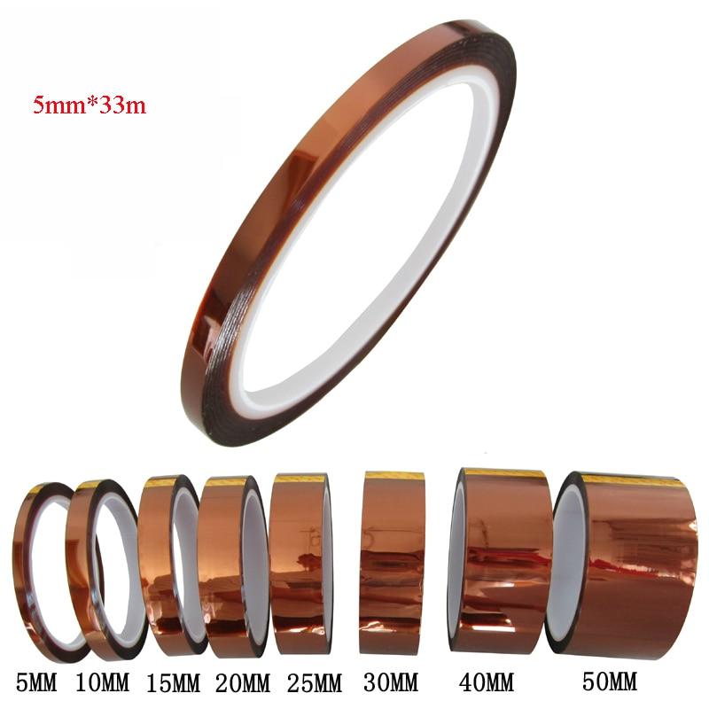 5mm*33m Heat Transfer Tape High Temperature Resistant Tape Heat Press Tape Heat Resistant