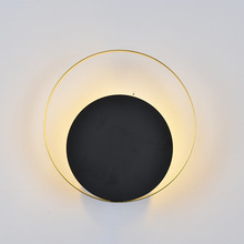 Retro Led wall moon lamp Staircase Bedroom led bedside Loft Industrial Vintage Nordic Design vanity lights for paintings