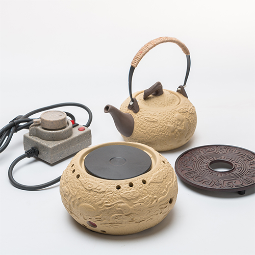 Hot Plates Tea furnace electric ceramic mini - small boiled tea set kettle pot pot. tea pot placemat