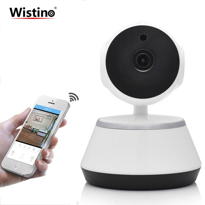CCTV 720P WiFi Mini Baby Monitor Wireless IP Camera PTZ P2P Indoor Surveillance Security Camera Home Video Monitor Night Vision