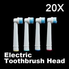 20 ШТ. Новая Мода Зубные Щетки Головы B Электрическая Зубная Щетка Замена Головки для Перорального Vitality Гигиены YF2017(China (Mainland))
