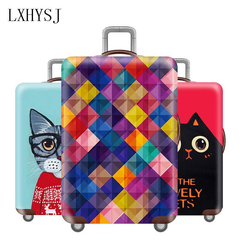 New Travel Luggage Protection Covers Elasticity Luggage Cover For 18-32 Inch Suitcase Dust Cover Travel Accessories