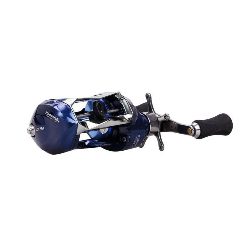AOF new arrival Bait Casting fishing reels one-way bearing wheel high-quality 6.2:1 sea fishing metal reels fast transport nunatak original 2017 baitcasting fishing reel t3 mx 1016sh 5 0kg 6 1bb 7 1 1 right hand casting fishing reels saltwater wheel