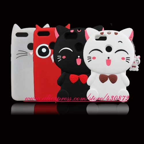 sports shoes a9d36 05cde US $3.35 |For Xiaomi MI A1 Mi5X Cute 3D Silicon Unicorn Cat Pig Stitch  Cartoon Soft Cell Phone Case Cover for Xiaomi MI 5X MIA1 5.5 inch-in ...