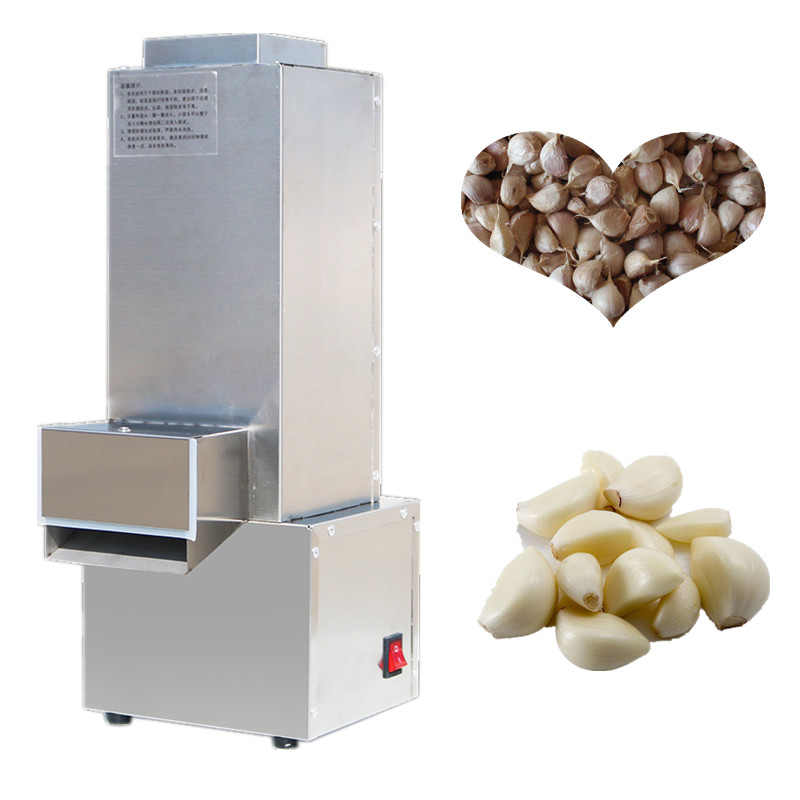 Electric garlic peeler automatic garlic peeling machine stainless steel fast garlic peel removing machine electric garlic peeler automatic garlic peeling machine stainless steel fast garlic peel commercial garlic peeler ysgp 25
