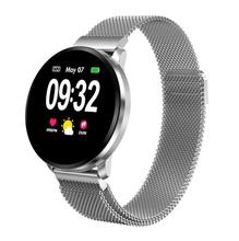 Fashion CF68 smart watch full touch screen sports step heart rate blood pressure oxygen monitoring IP67 waterproof
