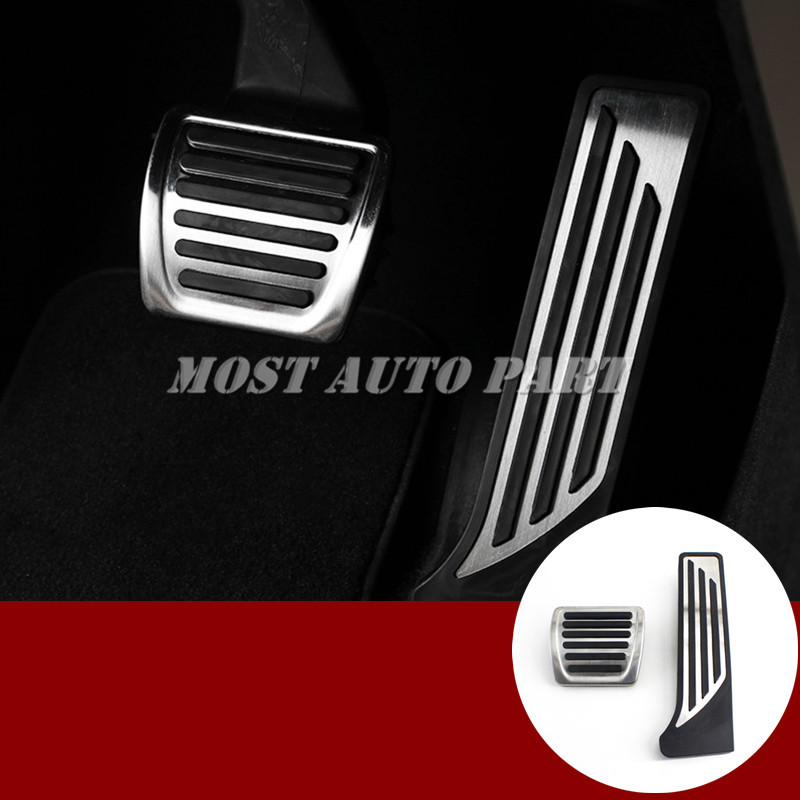 AT Foot Pedal Gas Fuel Brake Pedal Cover For Alfa Romeo