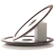 цена на 10pcs 4A2 resin bond diamond grinding wheel for tungsten carbide hard alloy grinding n sharpening forturetools abrasive R015