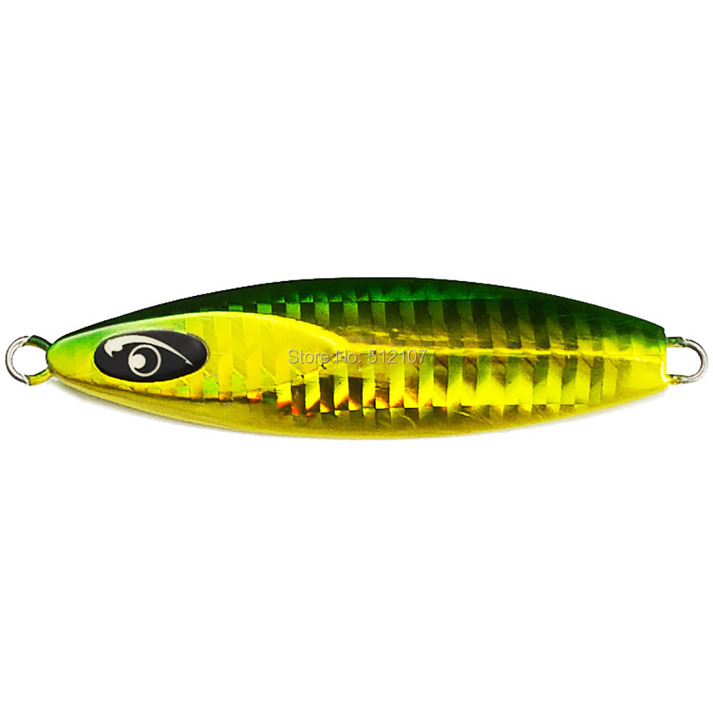 40g 1.4oz Countbass Jigging Lures, Japanese style Metal Fishing Jigs, Lead Fish Bait, Sea Bass Jig, Free shipping
