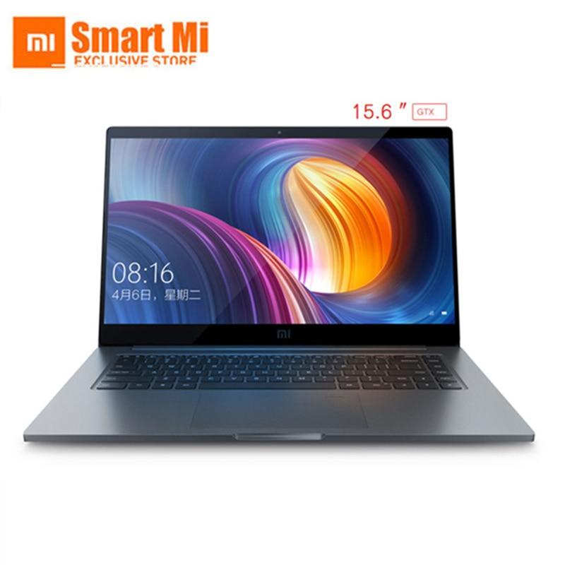 Xiao mi ordinateur portable Air Pro 15.6 pouces GTX 1050 max-q ordinateur portable Intel Core i7 8550U CPU NVIDIA 16 GB 256 GB empreinte digitale Windows 10