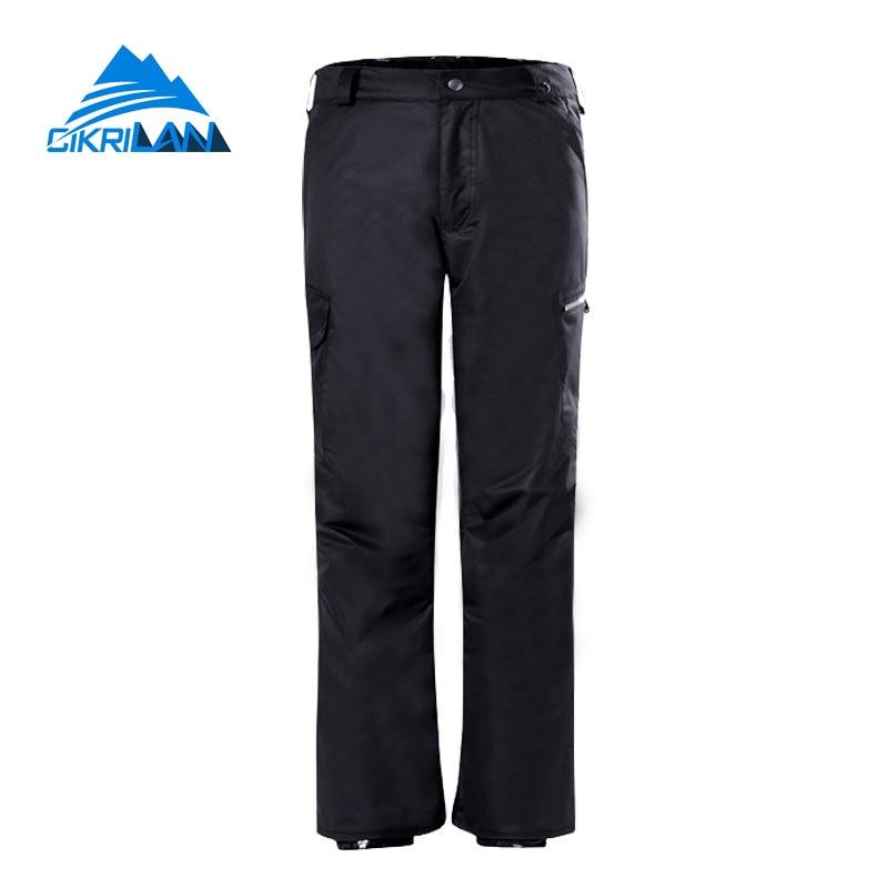 цена на Hot Sale Hot Sale Winter Outdoor Pantalon Esqui Hombre Water Resistant Windproof Trousers Breathable Ski Snowboarding Pants Men
