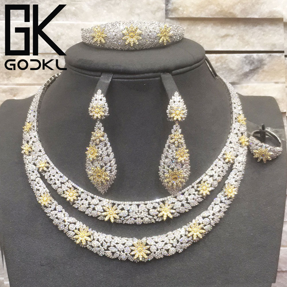 50% OFF Stock Deal - GODKI Luxury Nigerian Jewelry sets For Women Cubic Zirconia African Jewelry Sets Indian bridal jewelry set50% OFF Stock Deal - GODKI Luxury Nigerian Jewelry sets For Women Cubic Zirconia African Jewelry Sets Indian bridal jewelry set