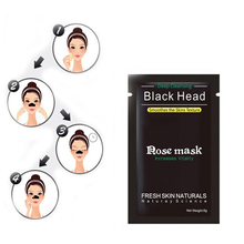 4pcs Blackhead Remover M ask Pore Cleanser For Nose And Facial Deep Cleansing purifying Black Head