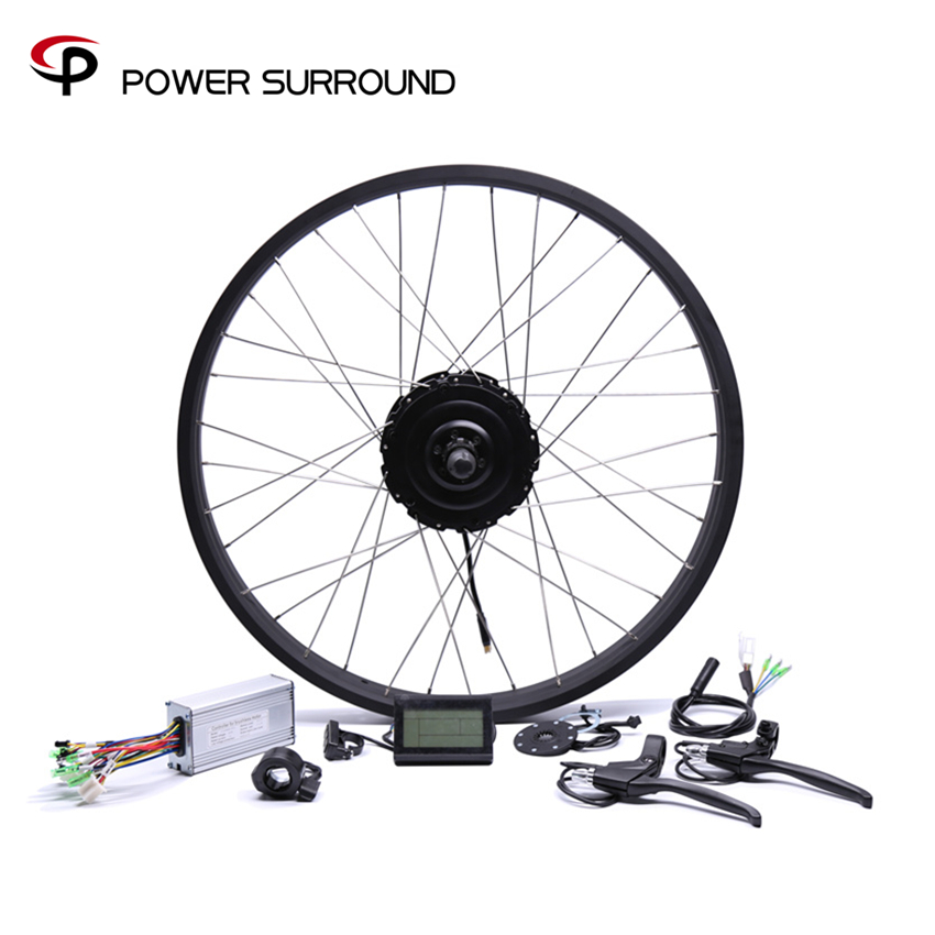 2019 Rushed 48v750w Bafang FAT Rear Electric Bike Conversion Kit Brushless Motor Wheel with 20 26
