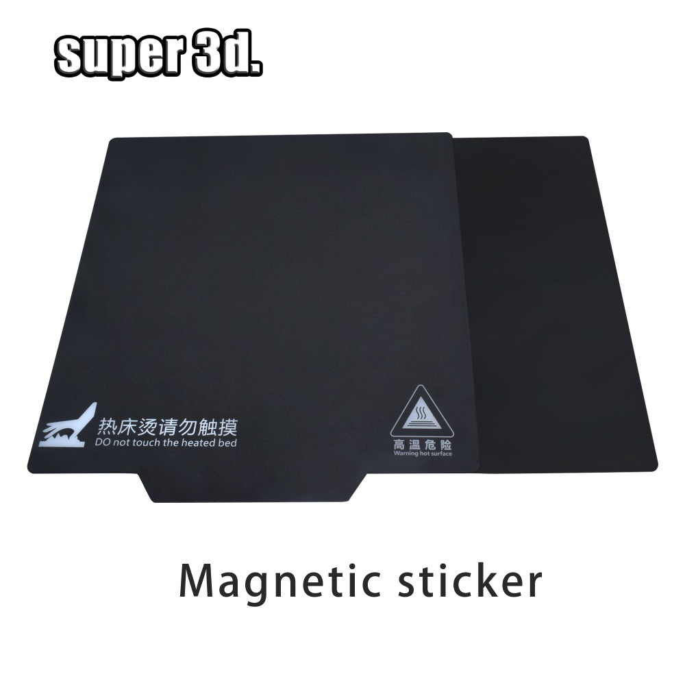 Magnetic Print Bed Tape 220/310/ 235*235MM Heated Bed Sticker Hot Bed Paper Build Plate Tape 3D Printer Ender 2 3/CR-10 10s Pro
