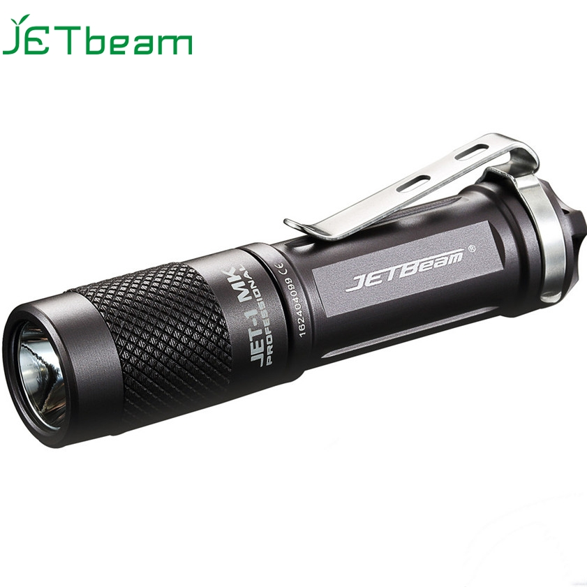 Super JETbeam JET-1 MK Cree XP-G2 480 Lumens Mini Portable Waterproof LED Flashlight 170127