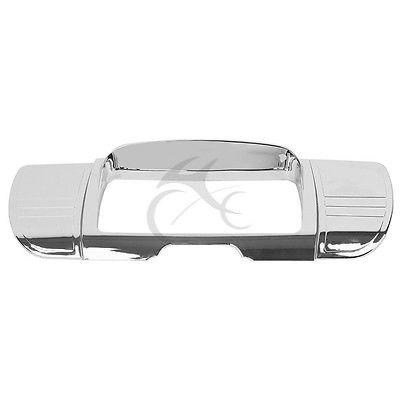 Хром Делюкс три линия стерео отделка крышки для моделей туринг Харлей 2014-2018 15 посещением улицы Электра скользит 14-18