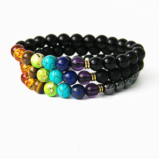 colorful bracelet lava product crystal energy women for volcano wholesale stone bracelets beads store natural jewelry