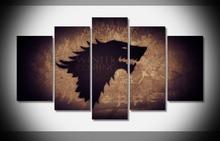 Game of Thrones Stark Direwolf Poster