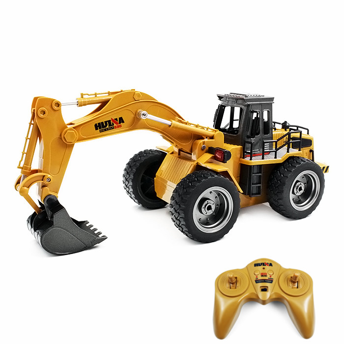 HUINA TOYS 1530 1:18 6CH RC Alloy Rooter Truck RTR With Movable Lifting Arm / Mechanical Sound / LED Light Kids Christmas Gift стенка валерия т 9 мр