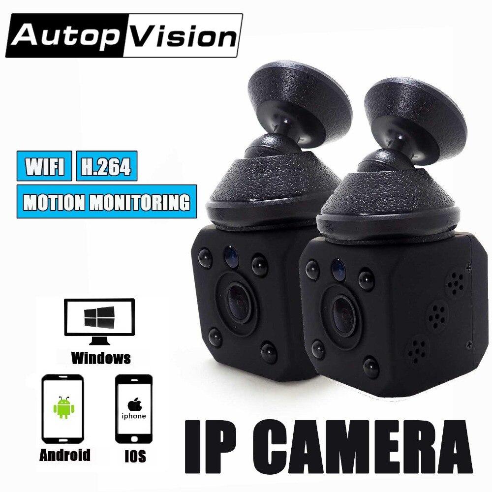 WJ03 Mini Battery IP Camera Monitoring Remote Viewing HD Lens 1080P WIFI Recording recording Motion Detection