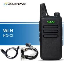 Оригинал WLN KD-C1 Рации UHF 400-470 МГц Портативный Трансивер Любительское Радио Handheld Приемопередатчик kd-c1 рации черный