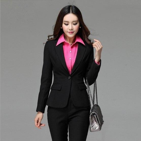 Aliexpress.com : Buy Women OL Office Suit Set Blazers and Pants
