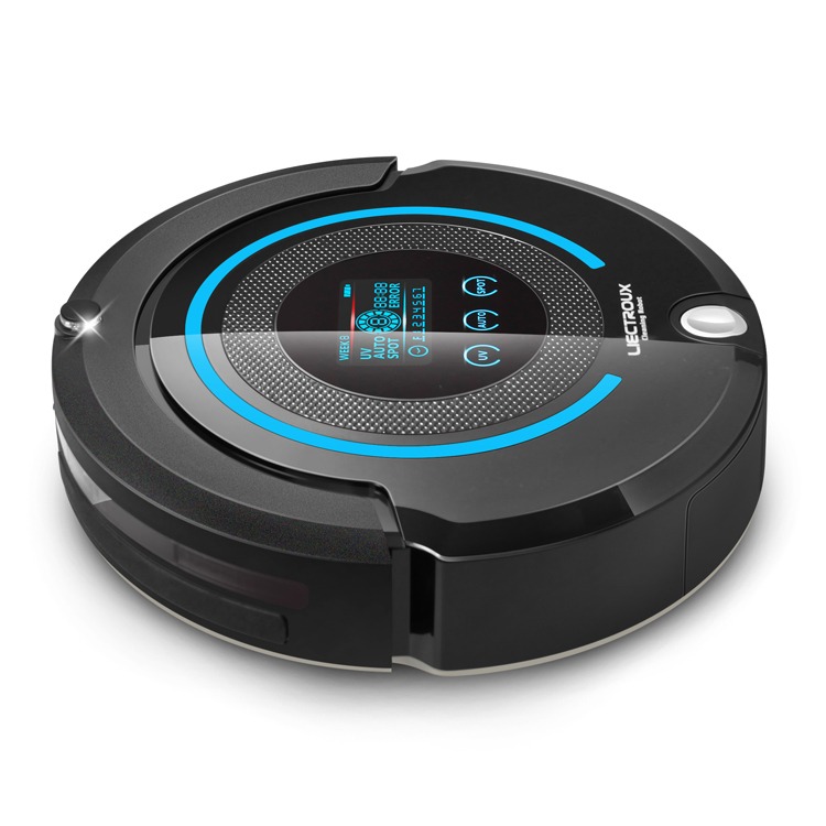 LIECTROUX A338 Multifunction Robot Vacuum Cleaner (Sweep,Vacuum,Mop,Sterilize),LCD,Schedule,Virtual Blocker,Auto Charge,Remote цена и фото