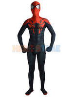 Superior Spider Man Costume Black Red Superior Spiderman Suit for Halloween Cosplay