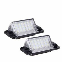 2 шт. светодиодное освещение для номерного знака автомобиля авто лампа для освещения номерного знака для BMW 3-серии E36 318i 318is 318ti 320i 323i 325i 325is 328i 328is M3